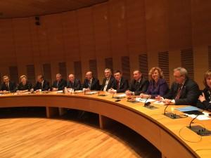Встреча в финском парламенте